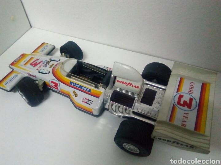 Juguetes antiguos de hojalata: Formula 1 rico para repar o piezas. Good year. Sev marchal - Foto 2 - 200403443
