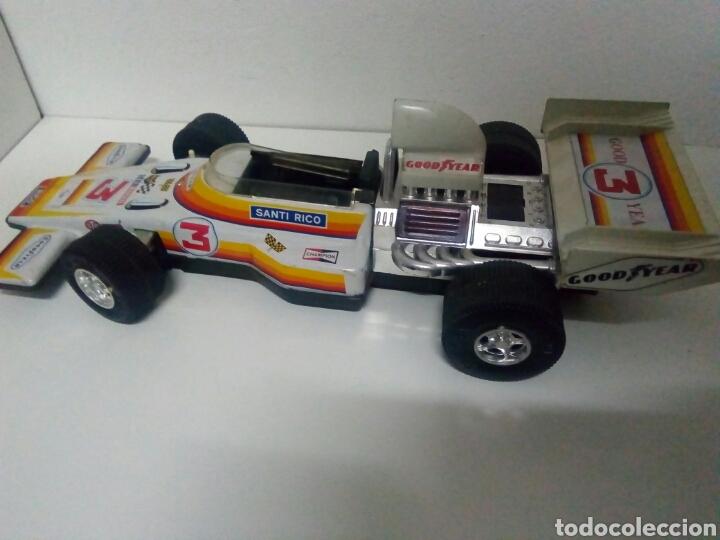 Juguetes antiguos de hojalata: Formula 1 rico para repar o piezas. Good year. Sev marchal - Foto 3 - 200403443