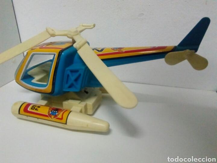 Juguetes antiguos de hojalata: Helicóptero obertoys - Foto 4 - 200403708