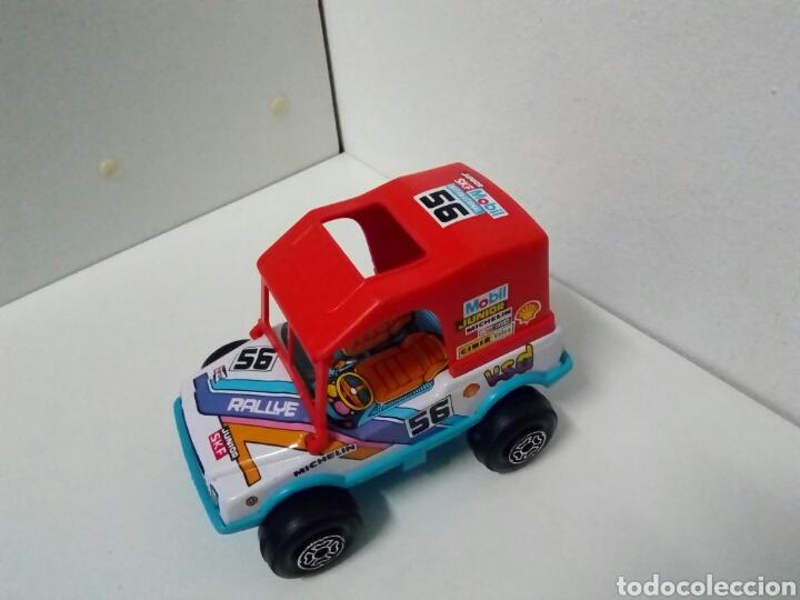 Juguetes antiguos de hojalata: Jeep obertoys rally.. Propaganda Michelin champion sfk. Mobil. Valeo. Cibie. Vsd. Agip. - Foto 2 - 201369838