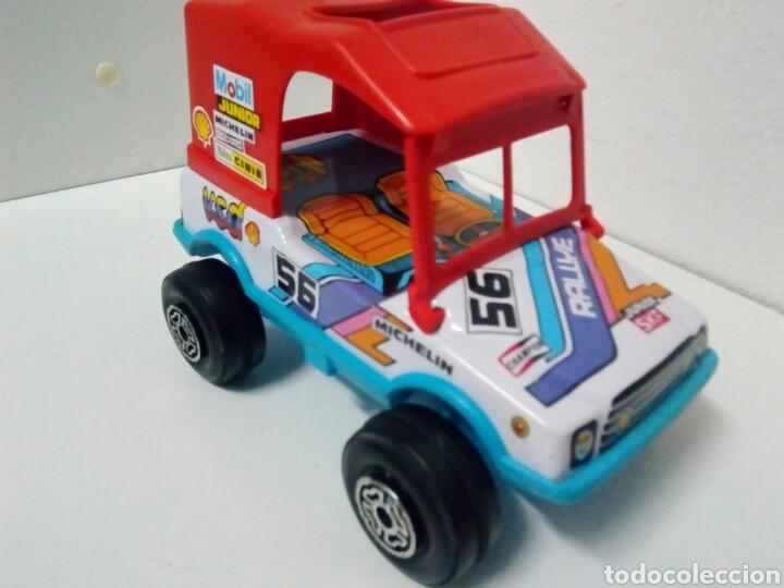 Juguetes antiguos de hojalata: Jeep obertoys rally.. Propaganda Michelin champion sfk. Mobil. Valeo. Cibie. Vsd. Agip. - Foto 3 - 201369838