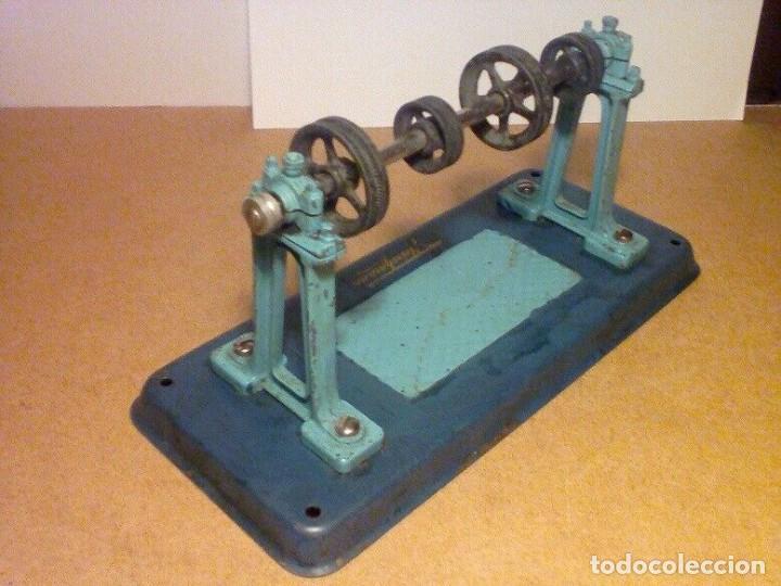 Juguetes antiguos de hojalata: antiguo hojalata Fleischmann Transmision para 4 modelos de propulsión tamaño 17,5 x 8 x 8,5 cm - Foto 3 - 201558145