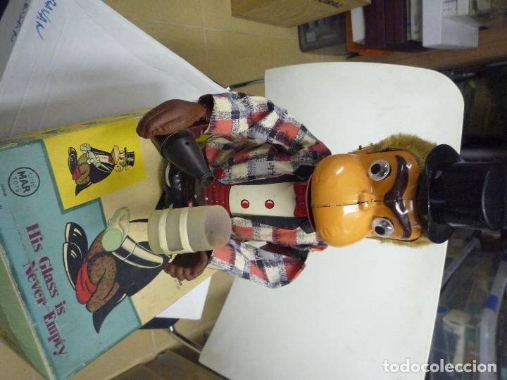Juguetes antiguos de hojalata: Automata japones Joko - Foto 4 - 202271871