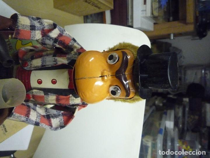 Juguetes antiguos de hojalata: Automata japones Joko - Foto 6 - 202271871