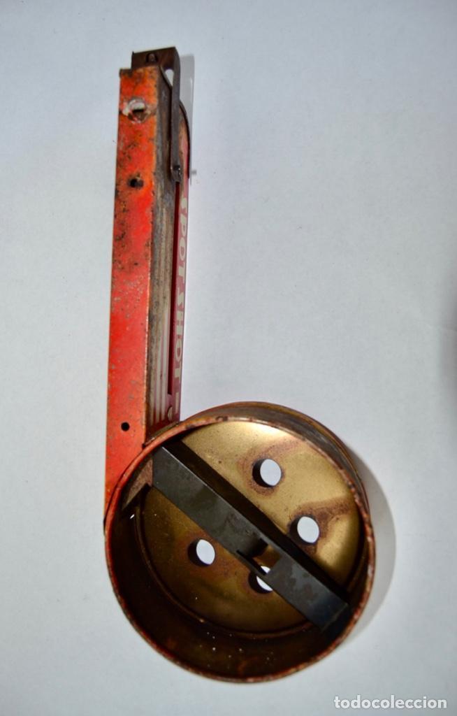 Juguetes antiguos de hojalata: Original Juguete Lanzabolas de Chapa. Spot Shot, Wolverine. E.E.U.U. Pin-ball. Circa 1950 - Foto 5 - 203004928
