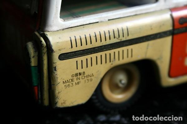 Juguetes antiguos de hojalata: COCHE HOJALATA - SEDAN - 19x7x9 cm - Foto 5 - 54613236