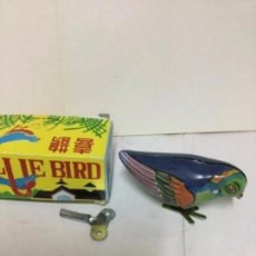 Juguetes antiguos de hojalata: BLUE BIRD- MS 029- CUERDA. Lote 204177755