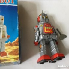 Juguetes antiguos de hojalata: ROBOT- 15 CM. - MS 386. Lote 204178355