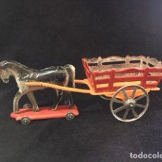 Juguetes antiguos de hojalata: ANTIGUO CARRO DE HOJALATA. Lote 205010493