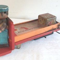 Juguetes antiguos de hojalata: JUGUETE HOJALATA ANTIGUO. Lote 205045331