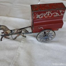 Brinquedos antigos de folha-de-Flandres: ORGANILLO ENRIQUE RAIS . 1910. Lote 205113603
