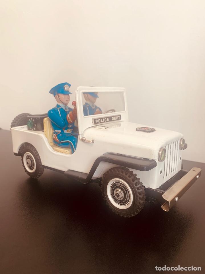 Juguetes antiguos de hojalata: Jeep hojalata TN nomura Japon Nuevo - Foto 2 - 205299483