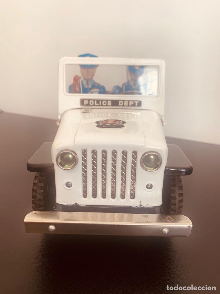 Juguetes antiguos de hojalata: Jeep hojalata TN nomura Japon Nuevo - Foto 3 - 205299483