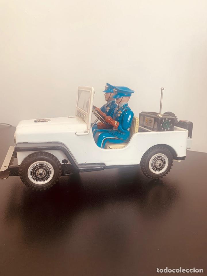 Juguetes antiguos de hojalata: Jeep hojalata TN nomura Japon Nuevo - Foto 4 - 205299483