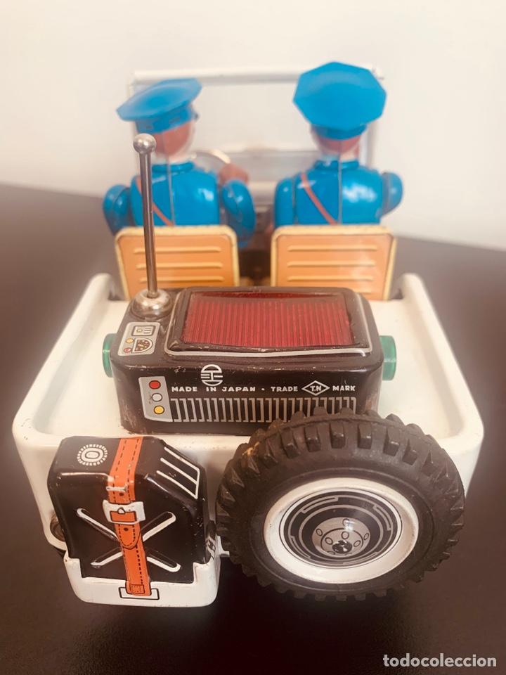 Juguetes antiguos de hojalata: Jeep hojalata TN nomura Japon Nuevo - Foto 5 - 205299483