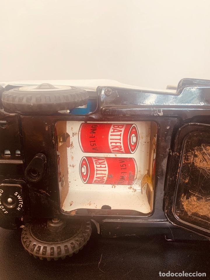 Juguetes antiguos de hojalata: Jeep hojalata TN nomura Japon Nuevo - Foto 9 - 205299483