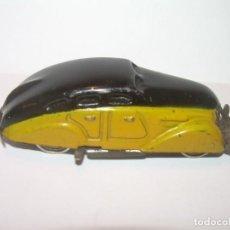 Brinquedos antigos de folha-de-Flandres: RARO COCHE PULGA TAXI...BARCELONA.....RICO.....FUNCIONA PERFECTAMENTE..MUY BUEN ESTADO..VER FOTOS.. Lote 206215545