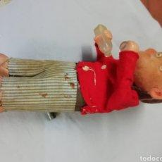 Juguetes antiguos de hojalata: MONO DE PAYA HOJALATA. Lote 206866726
