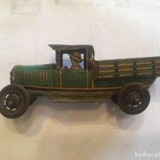 Brinquedos antigos de folha-de-Flandres: COCHE,DE JUGUETE,ANTIGUO CAMION DE HOJALATA RAI PAYA DE AÑOS 30. Lote 207172408