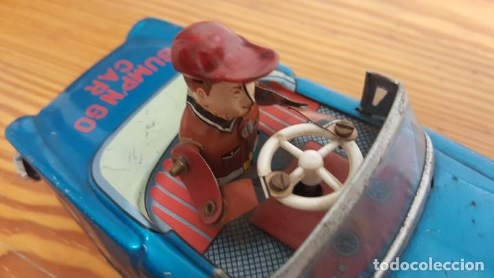 Juguetes antiguos de hojalata: COCHE YOSHIYA BUMPN GO CAR - MADE IN JAPAN - HOJALATA - CON MECANISMOS FUNCIONANDO. AÑO 1960. - Foto 5 - 207437070