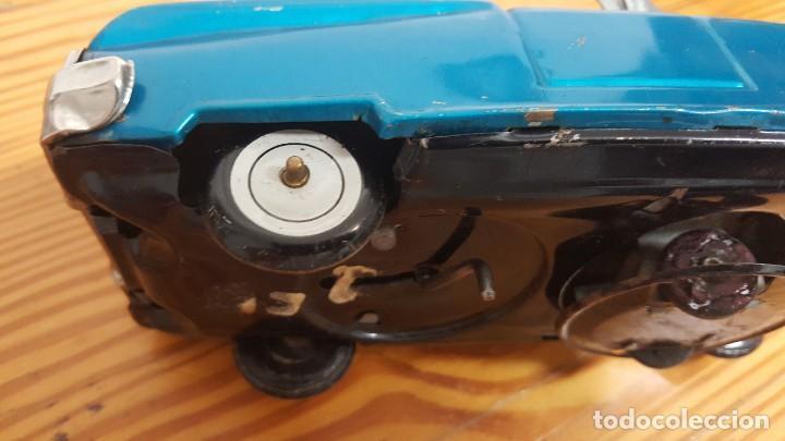 Juguetes antiguos de hojalata: COCHE YOSHIYA BUMPN GO CAR - MADE IN JAPAN - HOJALATA - CON MECANISMOS FUNCIONANDO. AÑO 1960. - Foto 14 - 207437070