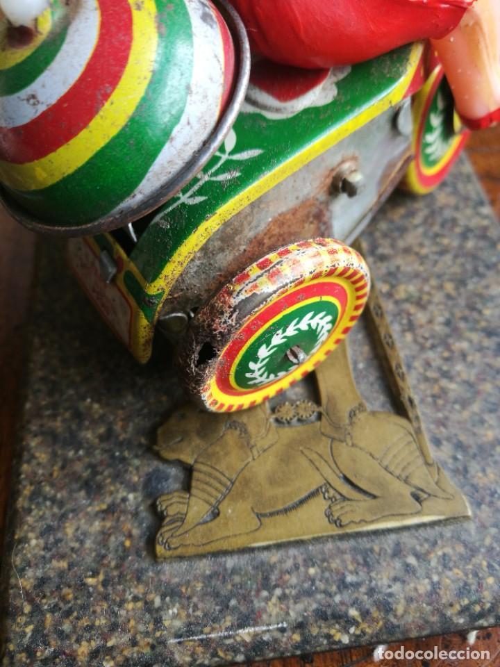 Juguetes antiguos de hojalata: Juguete celuloide y lata mecánico - Foto 4 - 207585242