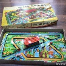 Juguetes antiguos de hojalata: OVERLAND TRAFFIC GAME - PISTA HOJALATA. Lote 208459546