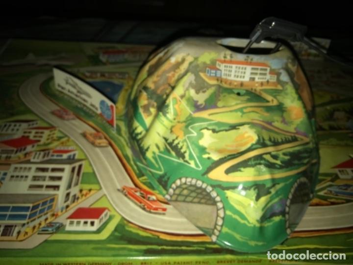 Juguetes antiguos de hojalata: International AIRWAYS - Technofix - Modelo 309 - Buen estado - Made in W Germany años 60 - Foto 13 - 210698091