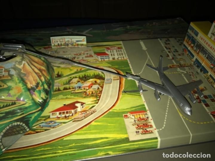 Juguetes antiguos de hojalata: International AIRWAYS - Technofix - Modelo 309 - Buen estado - Made in W Germany años 60 - Foto 19 - 210698091