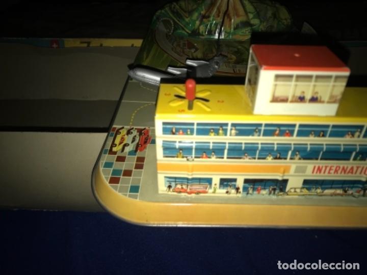 Juguetes antiguos de hojalata: International AIRWAYS - Technofix - Modelo 309 - Buen estado - Made in W Germany años 60 - Foto 21 - 210698091