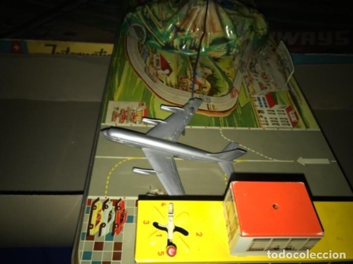 Juguetes antiguos de hojalata: International AIRWAYS - Technofix - Modelo 309 - Buen estado - Made in W Germany años 60 - Foto 23 - 210698091