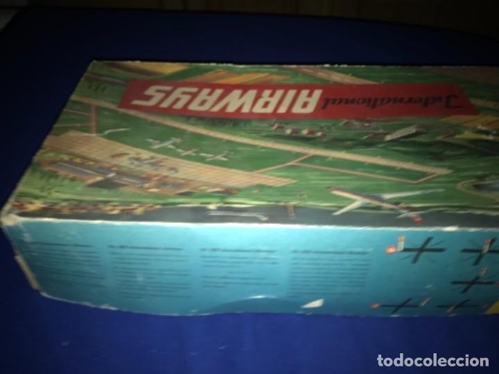 Juguetes antiguos de hojalata: International AIRWAYS - Technofix - Modelo 309 - Buen estado - Made in W Germany años 60 - Foto 42 - 210698091