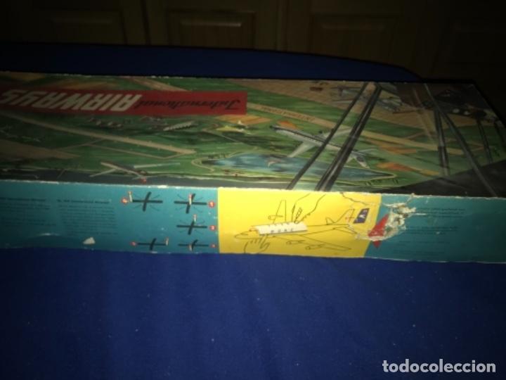 Juguetes antiguos de hojalata: International AIRWAYS - Technofix - Modelo 309 - Buen estado - Made in W Germany años 60 - Foto 46 - 210698091