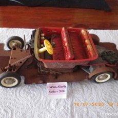 Brinquedos antigos de folha-de-Flandres: SCHUCO ELEKTRO 1950 SYNCHROMATIC 5700 , LOTE PARTE INFERIOR EN MUY MAL ESTADO POR ÓXIDO, PARA PIEZAS. Lote 211429121