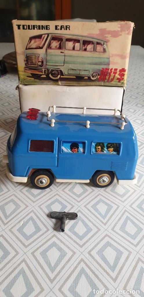 AUTOBUS TOURING CAR MS 089. (Juguetes - Juguetes Antiguos de Hojalata Extranjeros)