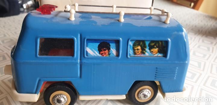 Juguetes antiguos de hojalata: AUTOBUS TOURING CAR MS 089. - Foto 3 - 211569594