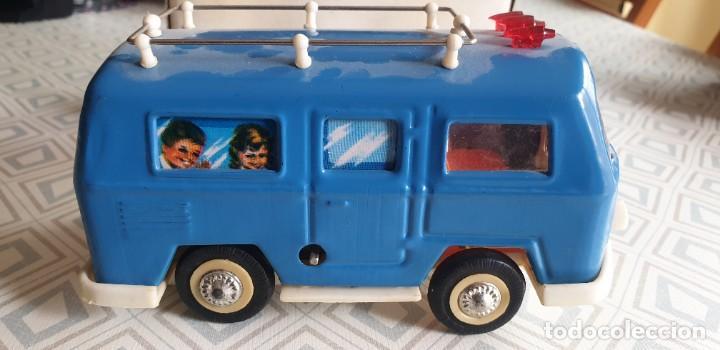 Juguetes antiguos de hojalata: AUTOBUS TOURING CAR MS 089. - Foto 5 - 211569594
