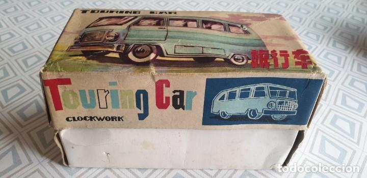 Juguetes antiguos de hojalata: AUTOBUS TOURING CAR MS 089. - Foto 7 - 211569594