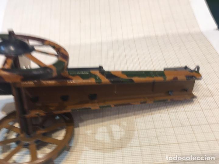 Juguetes antiguos de hojalata: Cañon antiguo para maqueta de juguete - Foto 8 - 211971956