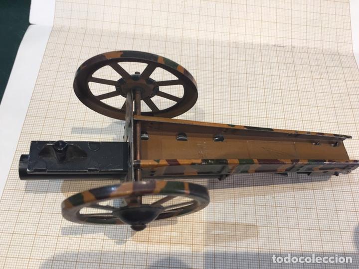Juguetes antiguos de hojalata: Cañon antiguo para maqueta de juguete - Foto 9 - 211971956