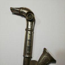 Juguetes antiguos de hojalata: SAXOFON HOJALATA. Lote 212604081