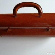 Juguetes antiguos de hojalata: MALETÍN DE HOJALATA. Lote 212999035
