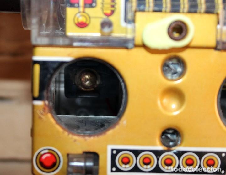 Juguetes antiguos de hojalata: ANTIGUO PISTON ROBOT - HORIKAWA - MADE IN JAPAN - AÑOS 70 - HOJALATA Y PLASTICO - JAPONES - Foto 16 - 213643920