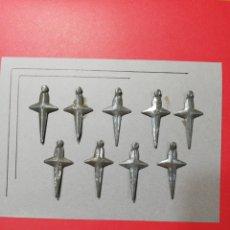 Brinquedos antigos de folha-de-Flandres: CARTÓN CHAPITAS PUÑAL. Lote 214332495