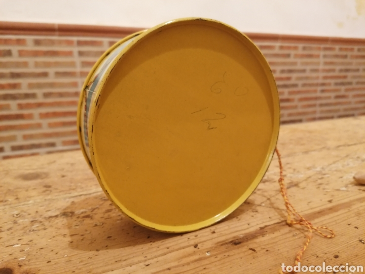 Juguetes antiguos de hojalata: Tambor Rico Hojalata - Foto 2 - 214756412