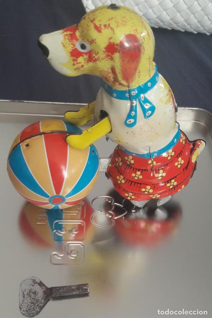 "Juguetes antiguos de hojalata: Juguete de hojalata ""correcaminos"" - Foto 2 - 215606732"