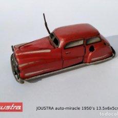 Juguetes antiguos de hojalata: JOUSTRA AUTO-MIRACLE 2002 HOJALATA FUNCIONANDO. AÑOS ´50.. Lote 216794608