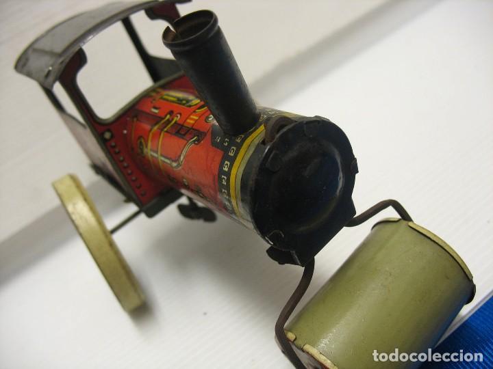 Juguetes antiguos de hojalata: juguete italiano ingap apisonadora - Foto 2 - 218627792