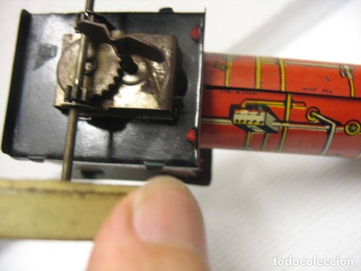 Juguetes antiguos de hojalata: juguete italiano ingap apisonadora - Foto 4 - 218627792