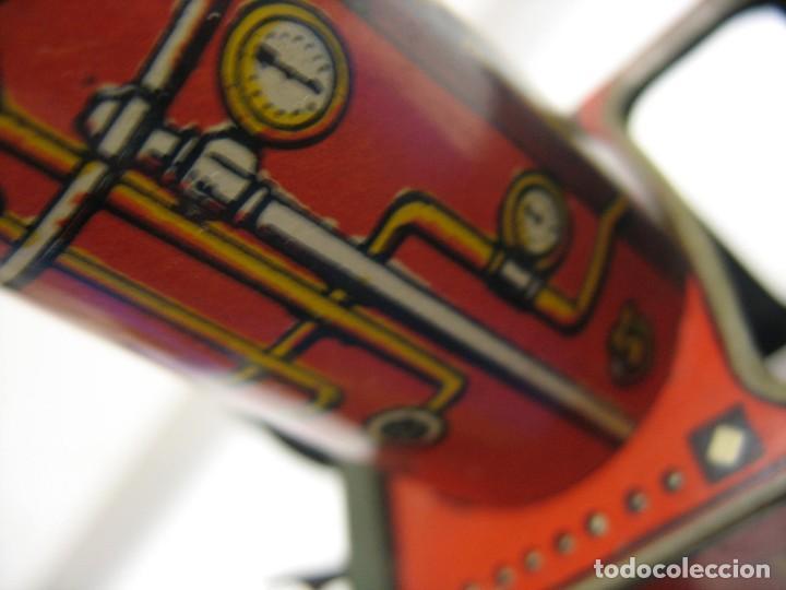 Juguetes antiguos de hojalata: juguete italiano ingap apisonadora - Foto 9 - 218627792